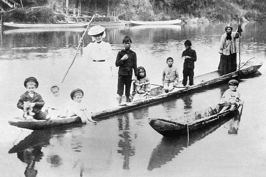 RIVER TRANSPORT 1907