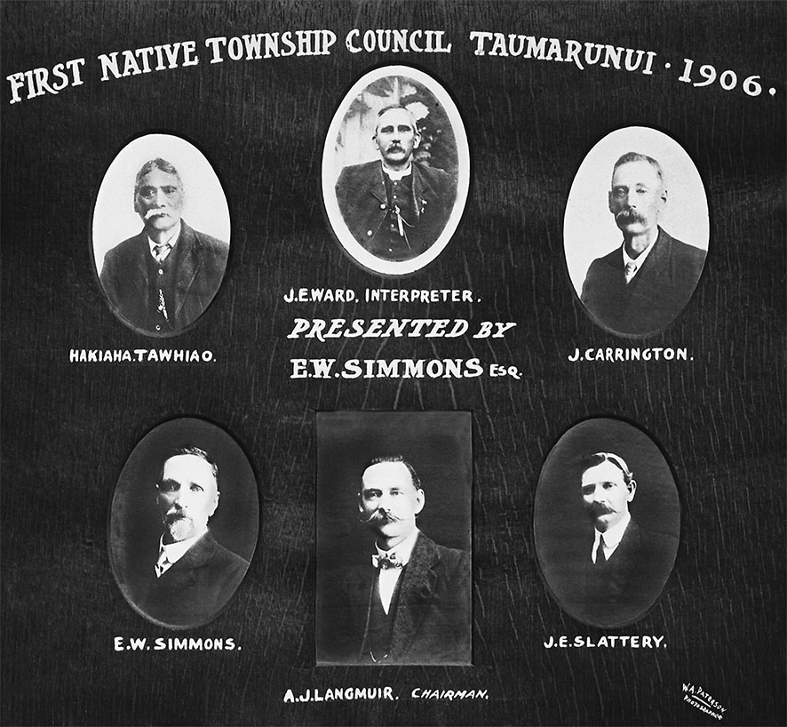 NATIVE TOWNSHIP COUNCIL 1906